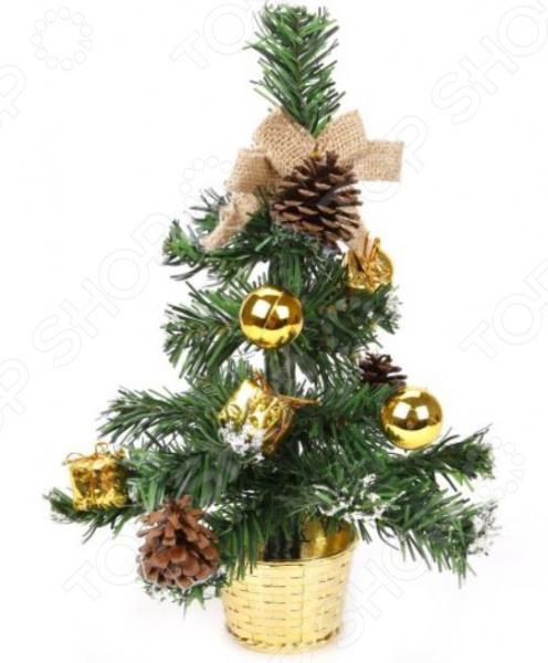 Ель с украшениями Новогодняя сказка 973454