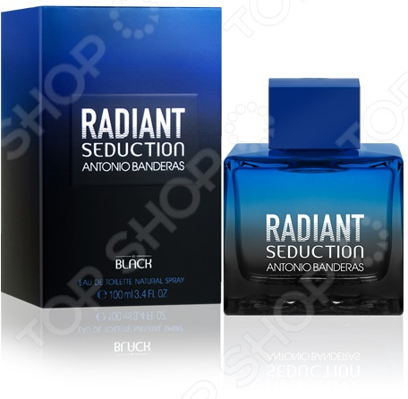 Туалетная вода для мужчин Antonio Banderas Radiant Seduction In Black M, 100 мл antonio banderas seduction in black splash 100 ml