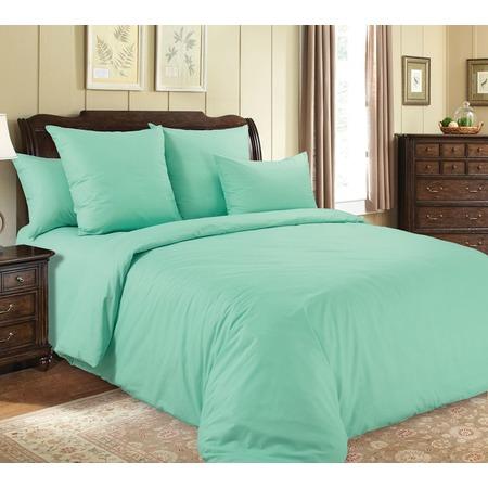 Купить Комплект постельного белья Королевское Искушение «Нежная зелень». Евро