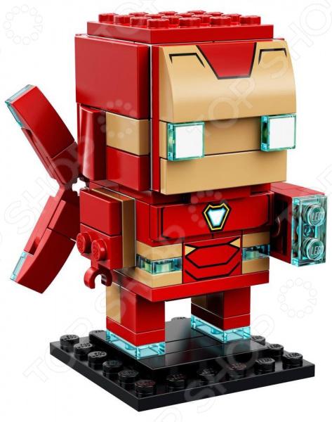 Игрушка-конструктор LEGO BrickHeadz «Железный человек»