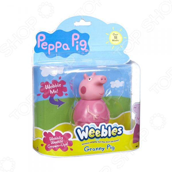 Неваляшка Peppa Pig «Бабушка Пеппы» гитара пеппы peppa pig