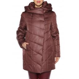 Куртка Pit.Gakoff «Нарядная осень». Цвет: темно-коричневый