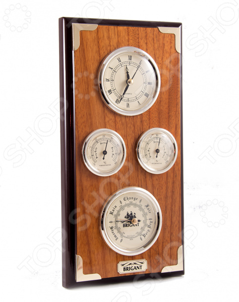 Часы-метеостанция настенные Brigant 28134
