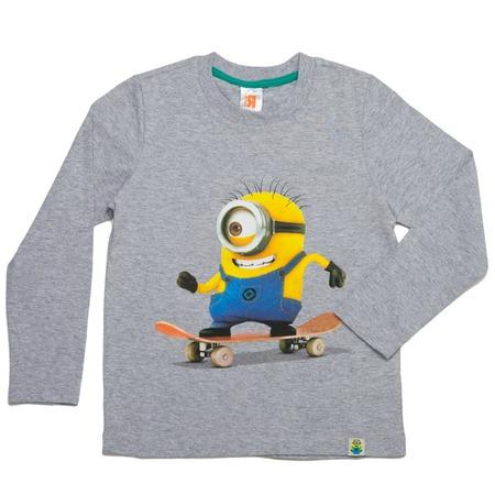 Купить Лонгслив для мальчика «Миньон на скейтборде»
