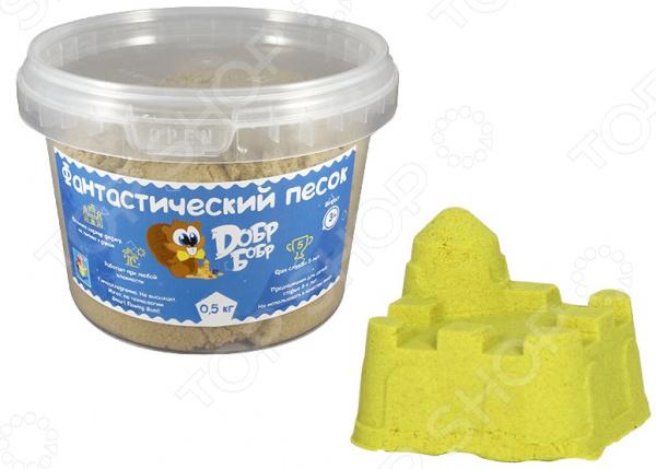 Песок кинетический 1 Toy малый «Добр бобр»