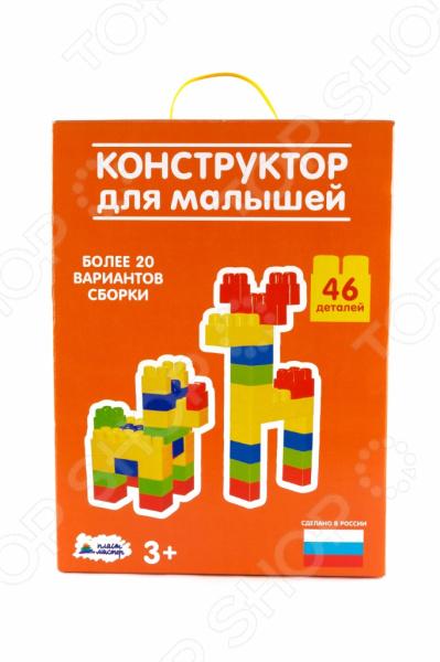 Конструктор для малышей Пластмастер 14016