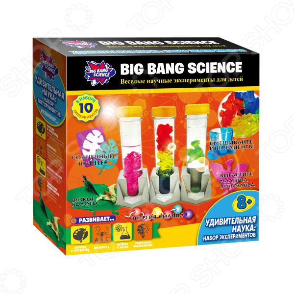Набор для экспериментов Big Bang Science «Удивительная наука»