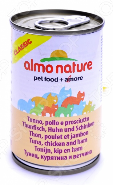 almo nature Classic Tuna Chicken Ham 54357