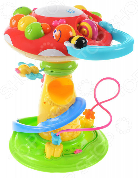 Развивающий центр со светозвуковыми эффектами B kids «Грибок» развивающий центр playgo для самых маленьких