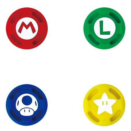 Купить Накладки сменные HORI Super Mario для Nintendo Switch