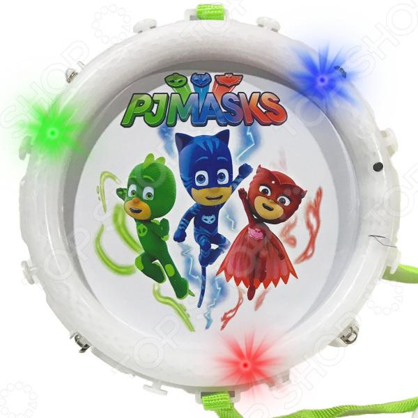 цена Барабан игрушечный PJ Masks «Герои в масках»