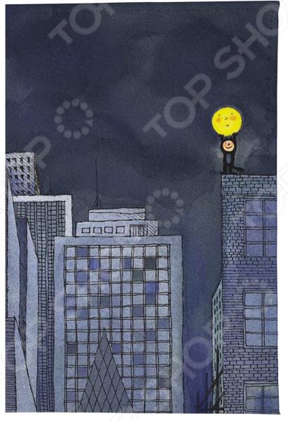 Визитница Mitya Veselkov «Мальчик и Луна» визитницы mitya veselkov визитница олени на черном