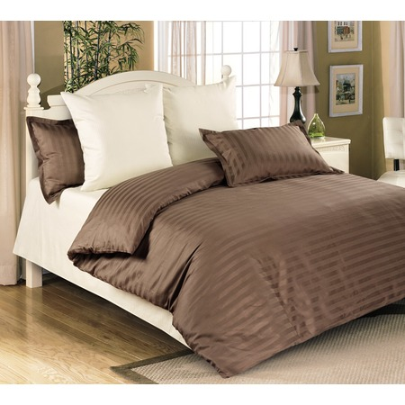 Купить Комплект постельного белья Королевское Искушение «Мокко». Евро