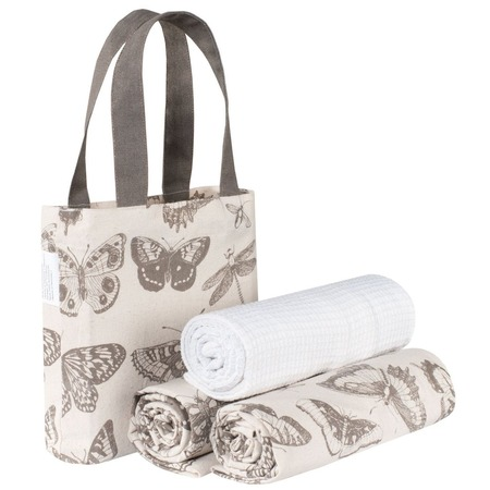 Купить Набор полотенец и сумка Guten Morgen «Бабочки»