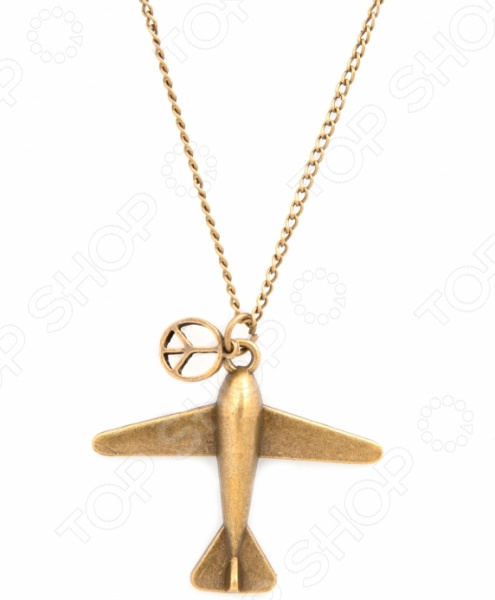 Кулон Mitya Veselkov «Миролюбивый самолет»