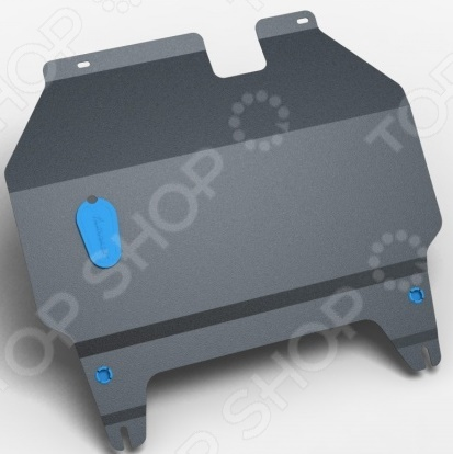 Комплект: защита картера и крепеж NLZ FAW X80, B70 2014: 2,0 бензин МКПП/АКПП