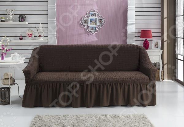 Zakazat.ru: Натяжной чехол на трехместный диван «Изысканный стиль»