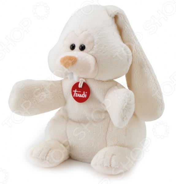 Мягкая игрушка на руку Trudi «Заяц Вирджилио» мягкие игрушки trudi мягкая игрушка trudi заяц вирджилио 9 см
