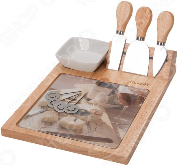 Набор для нарезки сыра Regent Formaggio. Количество предметов: 10 шт