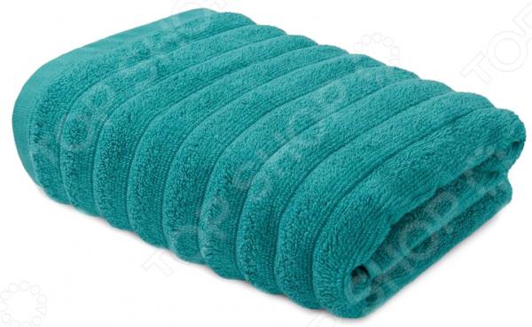 Полотенце махровое Ecotex «Лайфстайл». Цвет: бирюзовый полотенце ecotex лайфстайл 70x130 фиолетовый 4650074957616