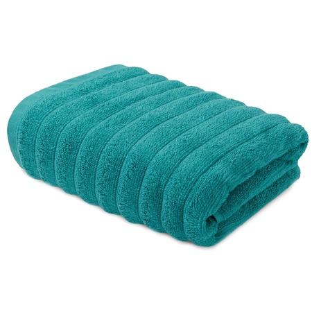 Купить Полотенце махровое Ecotex «Лайфстайл». Цвет: бирюзовый