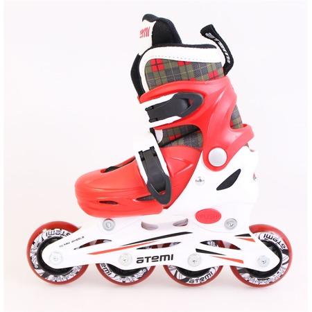 Купить Детские роликовые коньки Atemi AJIS-12.06 Square. Цвет: красный