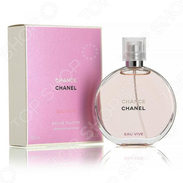 Туалетная вода для женщин Chanel Chance Eau Vive, 50 мл кольцо chanel cc logo