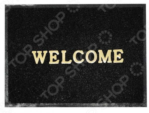 Коврик придверный Vortex Welcome. Рисунок: орнамент придверный коврик vortex полукруглый придверный коврик welcome comfort vortex 40×60 см