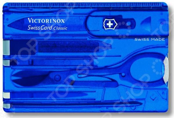 Карта швейцарская Victorinox SwissCard 0.7122.T2