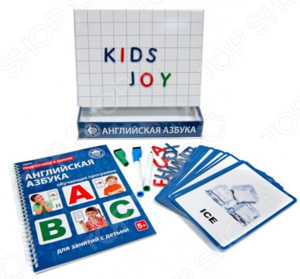 Набор обучающий для ребенка Школа будущего «Английская азбука для детей» Набор обучающий для ребенка Школа будущего «Английская азбука для детей» /