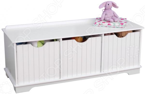 Система для хранения игрушек KidKraft «Скамья с ящичками»