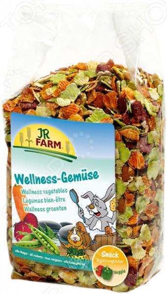 Хлопья овощные для грызунов JR Farm Wellness Gemuese