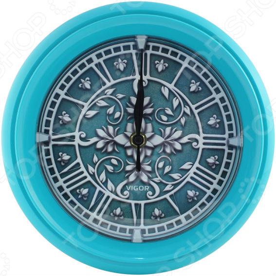 Часы настенные Vigor Д-24 «Лепнина» часы vigor д 29 розовые розы