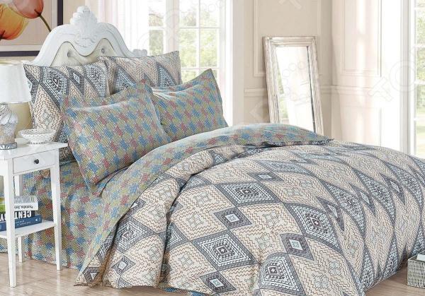 Комплект постельного белья Cleo 454-SK комплект постельного белья двуспальный cleo sk 2 441