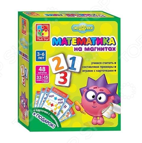 Игра настольная на магнитах Vladi Toys «Смешарики»