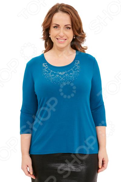 Блуза Матекс «Зимний бал». Цвет: аквамарин блуза матекс радость солнцу цвет красный