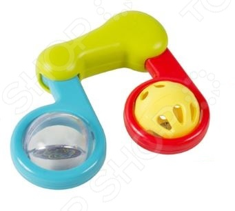 Игрушка-погремушка Huile Toys «Нотка». В ассортименте