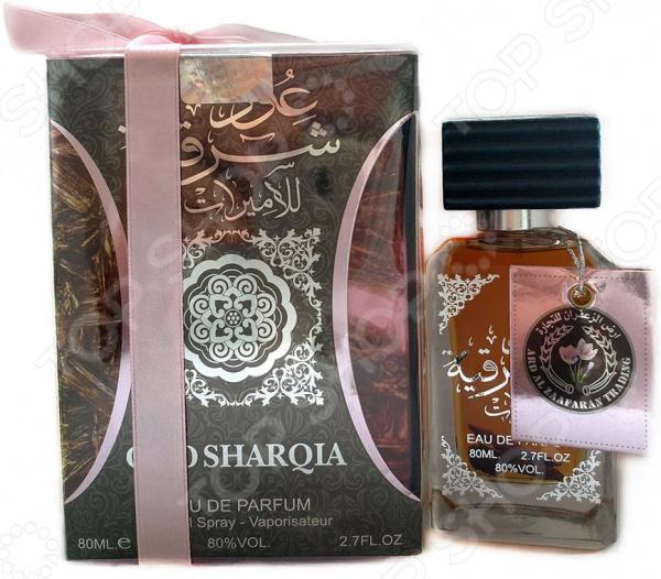 Парфюмированная вода для женщин Arabic Perfumes Oud Sharqia Rose, 80 мл the merchant of venice rose oud туалетная вода 50 мл