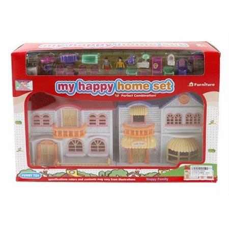 Купить Кукольный дом с аксессуарами Shantou Gepai 08829