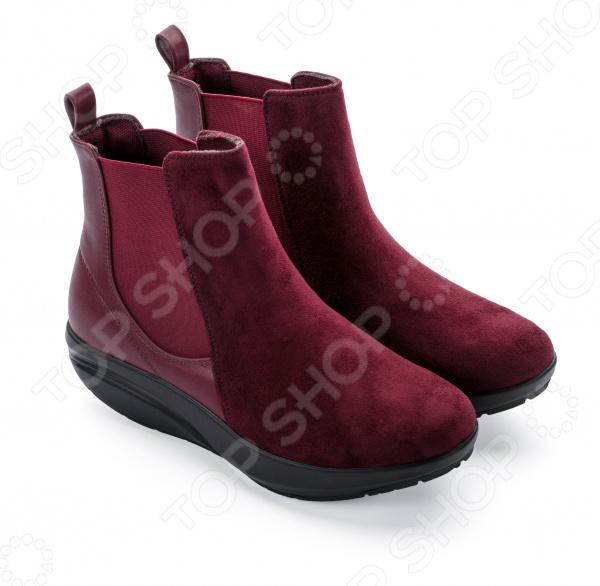 Ботинки женские Walkmaxx Стильный Комфорт. Цвет: красный