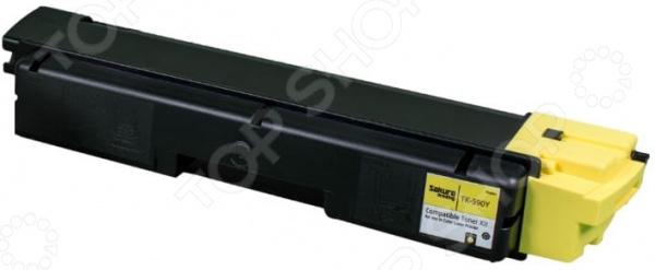 Картридж Sakura TK590Y для Kyocera Mita FS-C2026/C2126MFP картридж sakura tk3130 для kyocera mita fs 4200 4300