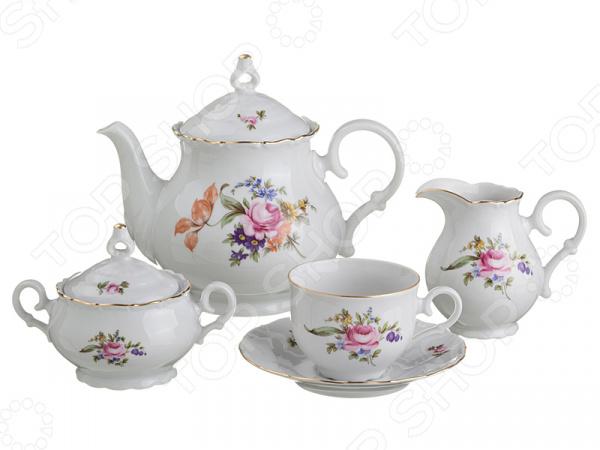 Чайный сервиз M.Z. «Майсенский букет» 655-140 m z чайный сервиз майсенский букет набор