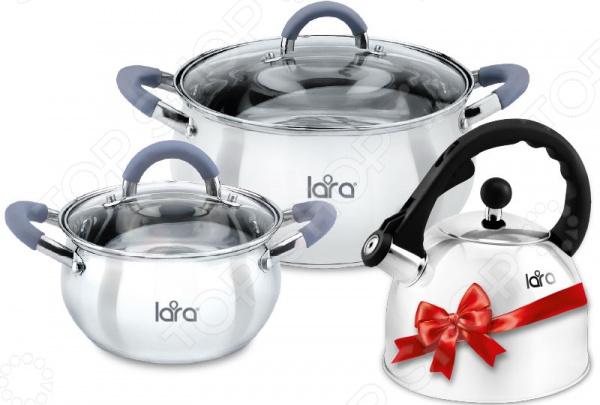 Набор посуды LARA Bell LR02-103 lara apple lr02 33