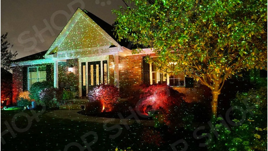 Лазерный проектор Star Shower Laser Light 4