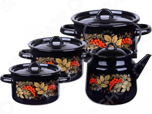 Набор посуды Северсталь «Рябина»