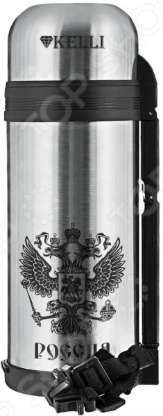 Термос Kelli KL-0927 «Герб России»