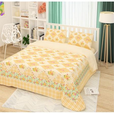 Купить Комплект постельного белья Сирень «Ванильный прованс». Евро