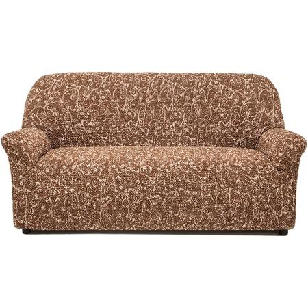 Купить Натяжной чехол на трехместный диван Еврочехол «Виста. Инка»