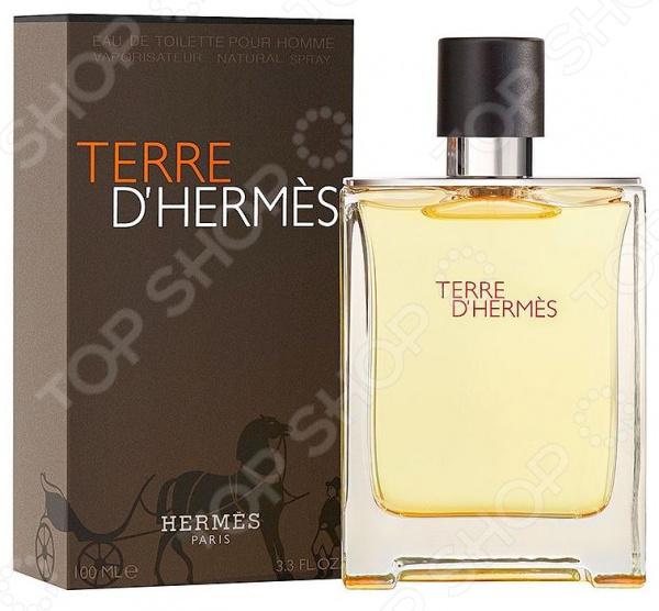 Туалетная вода для мужчин Hermes Terre D'Hermes туалетная вода hermes un jardin en mediterranee