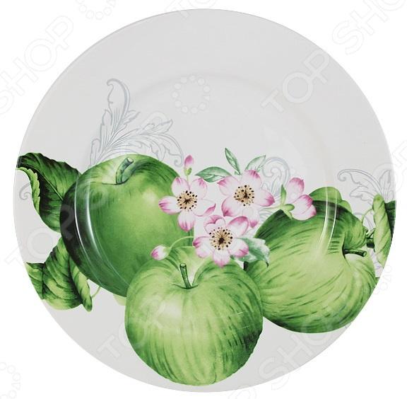 Тарелка Imari «Зеленые яблоки» IMA0180H-A2211AL банка для сыпучих продуктов imari зеленые яблоки im55060 1 a2211al